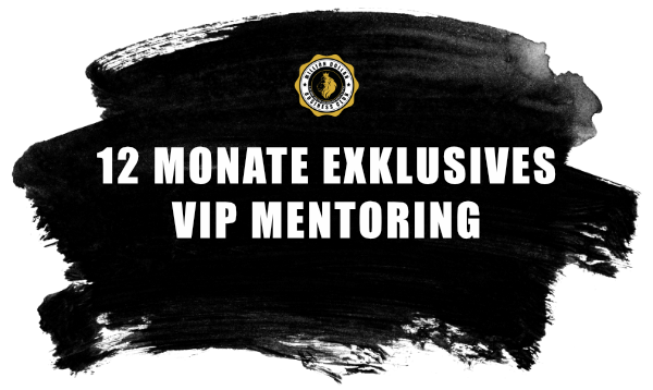 12 Monate VIP Mentoring